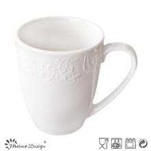 Tasse en céramique en relief de porcelaine de promotion