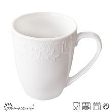 Promotion Ceramic Embossed Porcelain Mug