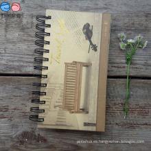 Cuaderno ecológico de 48k de papel con espiral (NP (48K) -X-011)