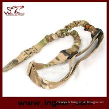 Airsoft Multi fonction corde toile élastique Double Gun Sling fusil Sling