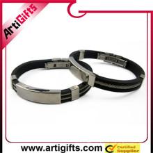 hebilla de pulsera de acero inoxidable blanco puro y translucidez