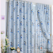 lovely Snoop Dogg printed kids cartoon curtain