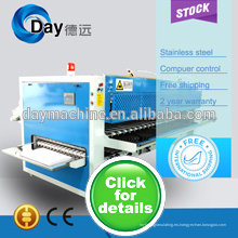 Alta calidad y venta superior de la máquina plegable doble de la tela 2014