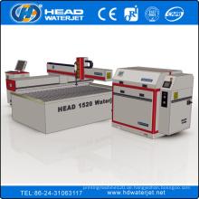 Competitive 1500mm * 2000mm CNC Wasserstrahl Glasschneidemaschine