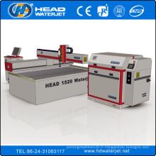 Machine de découpage de verre de jet d'eau de CNC de 1500mm * 2000mm concurrentielle