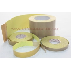 PTFE Coated Fiberglass with Silicone Adhesive Pressure Sensitive Tape
