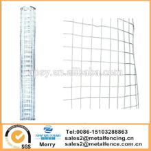 Filet de clôture de jardin galvanisé 1.5X60cm maille net de lapin de poulet