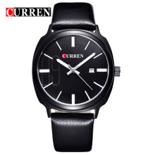 curren latest quartz watch for business men casucal style