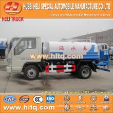 FOTON 4X2 3500L preiswerter Preis-Wasser-Behälter-LKW-Minilaser-niedriger Preis-Qualitätsfabrik direkt