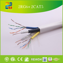 2015 Xingfa High Quality Low Price 2RG6+ 2cat5e Cable