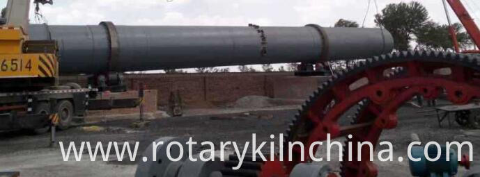 Rotary kiln for calcined dolomite