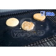 Reusable, dishwasher safe, non-stick PTFE BBQ Grill Mats/ Grillmats/ Miracle Grill Mats