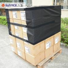 Couvertures de palette de carton enveloppent les couvertures transparentes de palette de plastique de FIlm