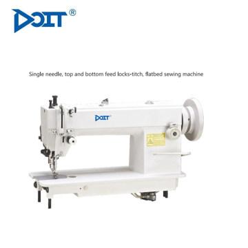 DT0302High vitesse d'alimentation composée à plat unique aiguille Heavy Duty cuir industrielle de machine à coudre lockstitch