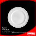 Sterne Hotelrestaurant verwenden Haupt Platte Porzellan weiß