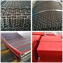 Metal 65Mn Steel Mining Tamizado malla de alambre