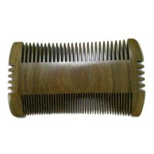 FQ Marke breite Zahntasche aus Holz Haar Bartkamm