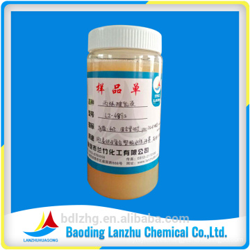 Buena Propiedades generales LZ-4882 Resina acrílica basada en agua Emulsión de polímero acrílico