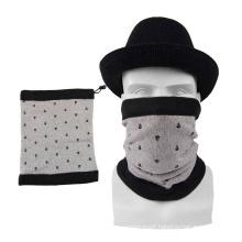 Promotion high elastic motorcycle custom logo winter neck warmer scarf with polar fleece