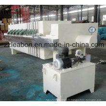 Filtre-presse à plaques et à cadre de haute qualité pour le traitement des eaux usées