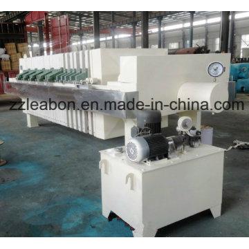 Prensa de filtro de placa e estrutura de alta qualidade para processamento de águas residuais