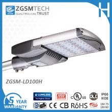 Lm79 Dlc Listed Energy-Saving Luz de Rua LED 100W Road Lamp & Highway Iluminação