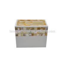 Goldener Perlmutt-Zahnbürstenhalter für Bad-Set