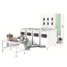 Machine de remplissage automatique d'oreiller de plume