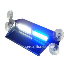 Windshields Dashboard Mount LED Strobe Lights Emergency Lights for Security Vehicles