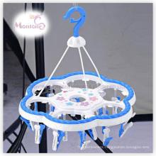 PP Plastic Hanger with 24PC Clips (L size 40*35cm)