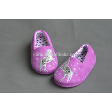 quiet pretty purple baby shoes child models indoor outdoor slipper