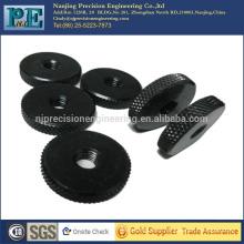 Tuercas planas cnc de encargo de la alta precisión de China para las piezas de automóvil