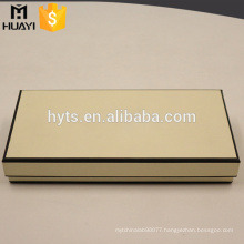 Fancy high quality custom made empty perfume packaging box
