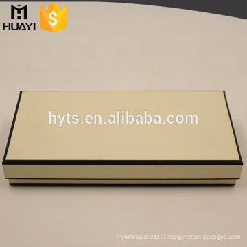Fancy high quality custom made empty perfume packaging box