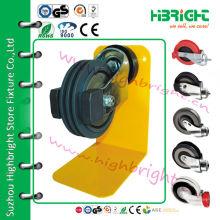 125-миллиметровый поворотный PU-ролик