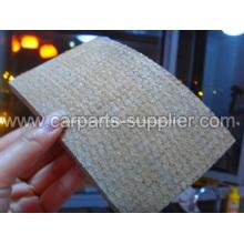 Rodillo de forro de freno tejido de resina de amianto