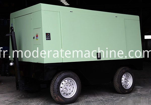 Movable Screw Air Compressor