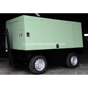 Electric Movable Screw Air Compressor for Rock Drill