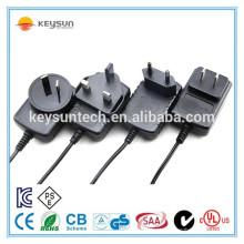 Bateria recarregável de amostras grátis para suprimento de adaptador de energia de 6 volts de 1,5 amp na China