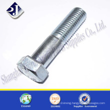 Hex Bolt with Zinc Blue 3+