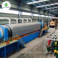 Déchets de plastique continuellement automatiques de 30 tonnes à l'usine de pyrolyse d'huile