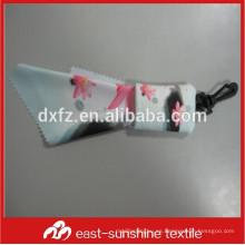 Llavero digital impreso gafas de microfibra paño de limpieza