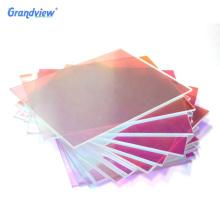 colorful acrylic plexiglass iridescent glass acrylic photo frame