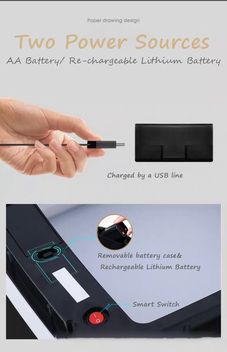 Rechargeable Litter Can