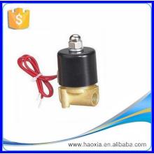 2W025-08 Válvula solenóide de gás de água de latão de 2 vias de 2 vias AC230V