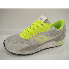 2016 Lemon Silver Shiny Sport Shoes for Women