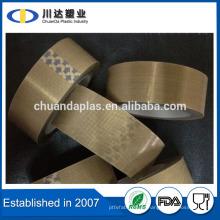 Venta al por mayor Teflon recubierto de fibra de vidrio cinta adhesiva de resistencia térmica