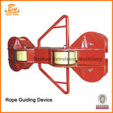 Rope Guiding Device for Drawing Drilling