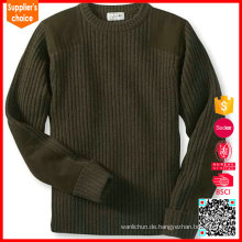 Klassische Stil militärischen Wolle Pullover Männer Pullover militärischen Uniform Pullover