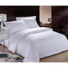 Cama nova da cama da coleção moderna do estilo Cama branca lisa do hotel / da casa do linho (WS-2016234)